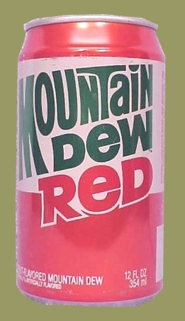 Mountain Dew Can Logo History